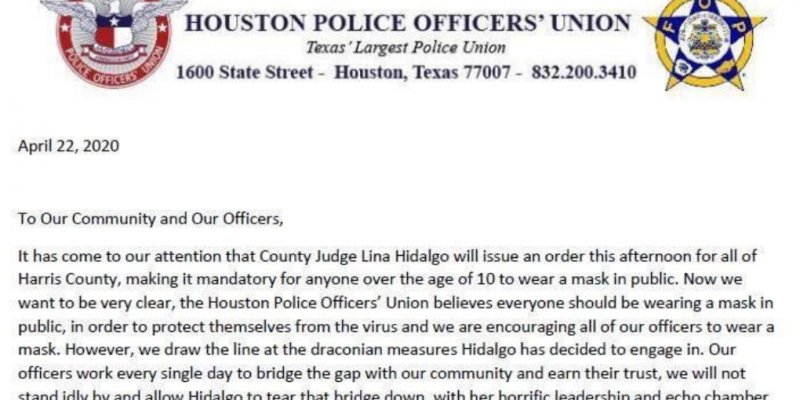 Houston Police Officers union opposes latest 'draconian' order issued by Harris County judge [video]
