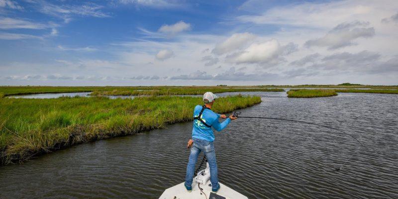 MARSH MAN MASSON: Absolutely Incredible Springtime Marsh Fishing!