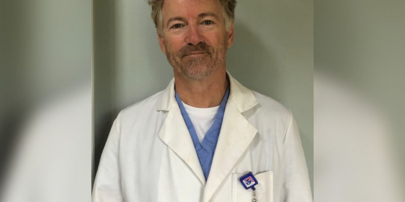 U.S. Senator Dr. Rand Paul Recovers from COVID-19, Volunteers at Hospital