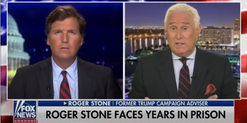 Roger Stone Grants First Un-Gagged Interview To Tucker Carlson