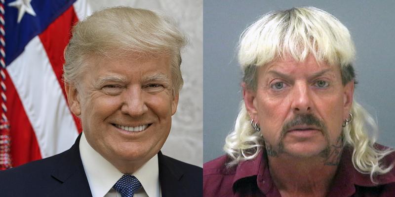 President Trump: 'I'll Take A Look' At Pardoning Joe Exotic