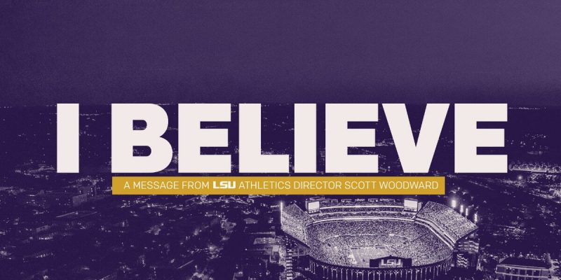 LEADING THE WAY: LSU Athletic Director Planning for June Return for Players
