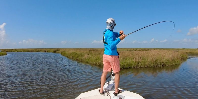 MARSH MAN MASSON: Quest For A Fish To Tag For VALUABLE Prizes