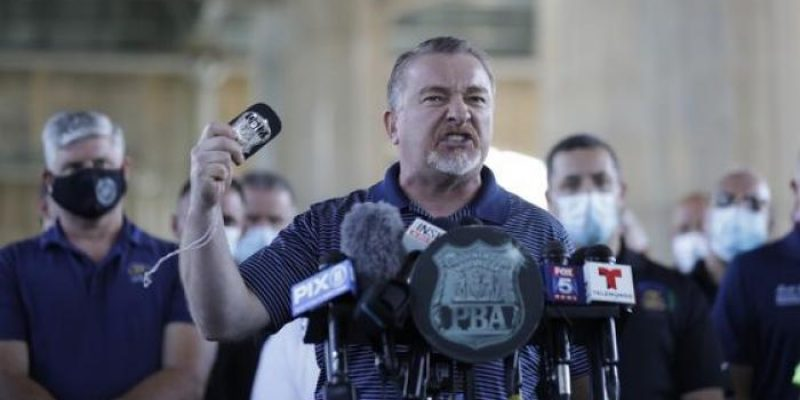 BADGE OF COURAGE: Emotional Police Union Boss Fights Back Amidst War on Law Enforcement