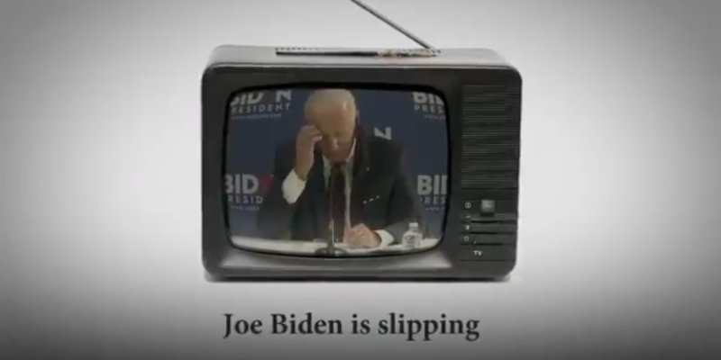 Trump Campaign Hits Biden on Age, Mental Fitness in Newest Ad (VIDEO)
