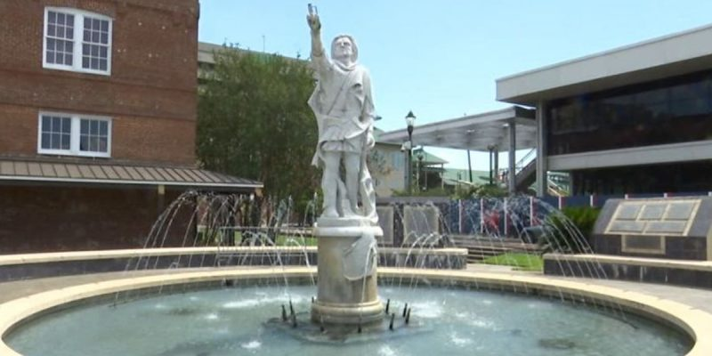 Now They Want To Take Christopher Columbus Away From Downtown BR