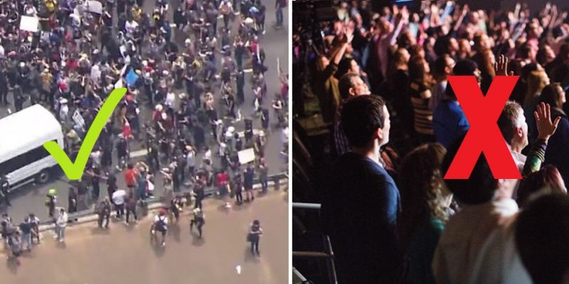 Riots Versus Churches: Mass Gatherings For Me, Not For Thee
