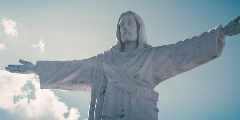 """BLM Activist Calls to """"Tear Down"""" Jesus Statues, Murals"""