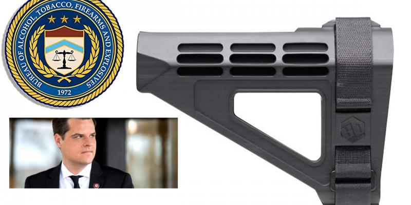 Florida Congressman: Pistol Braces May Soon Become The Next Bump Stocks