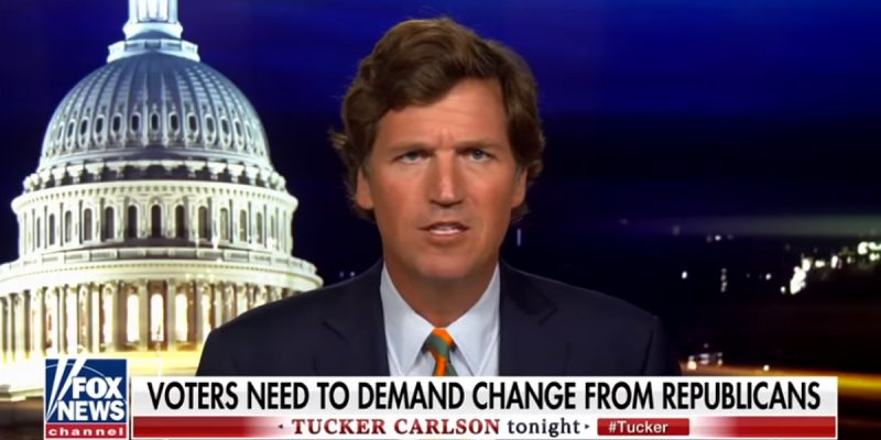 VIDEO: Tucker Carlson Sums Up Today's GOP