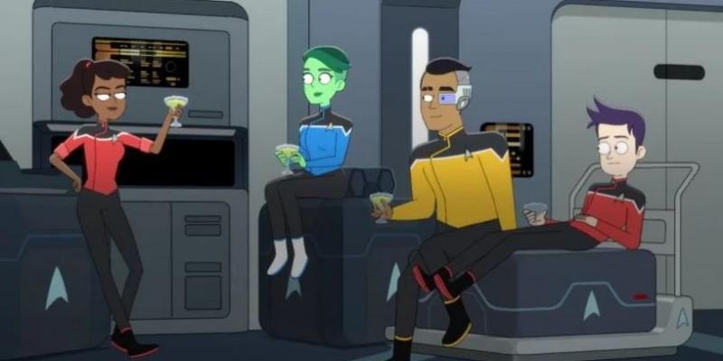 REVIEW: 'Star Trek: Lower Decks' Stuck Between Floors