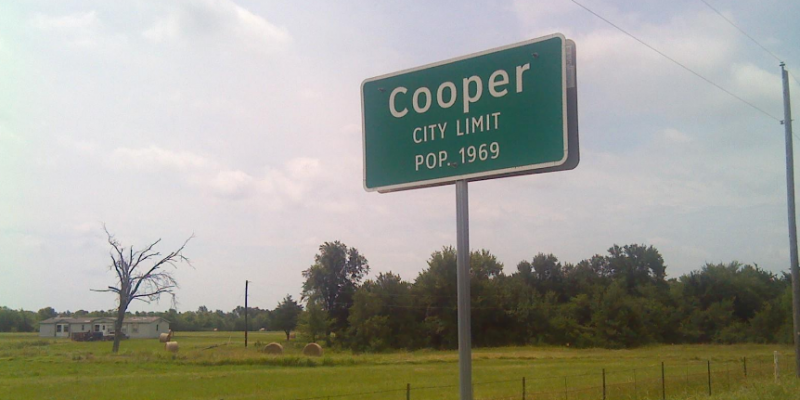 Cooper ranks the poorest of Texas towns, study finds