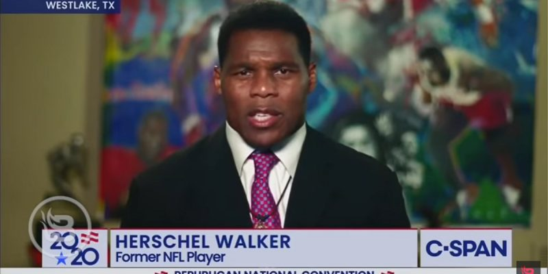 Herschel Walker And Maximo Alvarez Were The Highlight Of The RNC Last Night