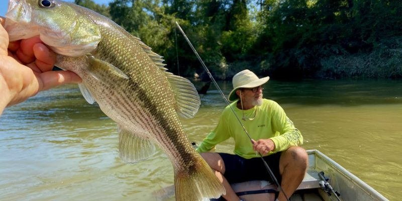 MARSH MAN MASSON: River Float With The Absolute MASTER!