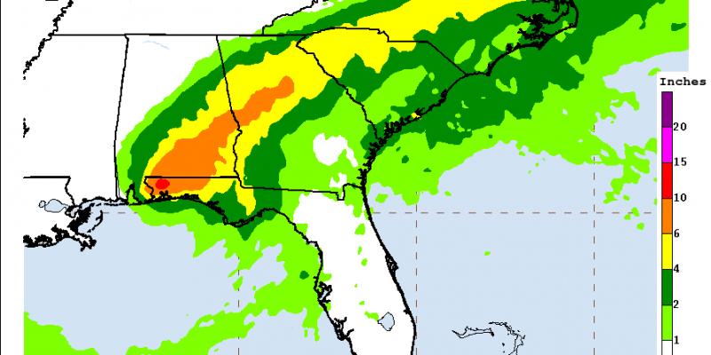 Hurricane Sally makes landfall, bringing torrential rain, storm surge and historic flooding