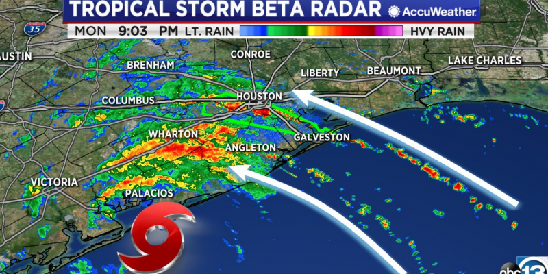 Up to 20 inches of rain expected in Houston area from Beta [videos]