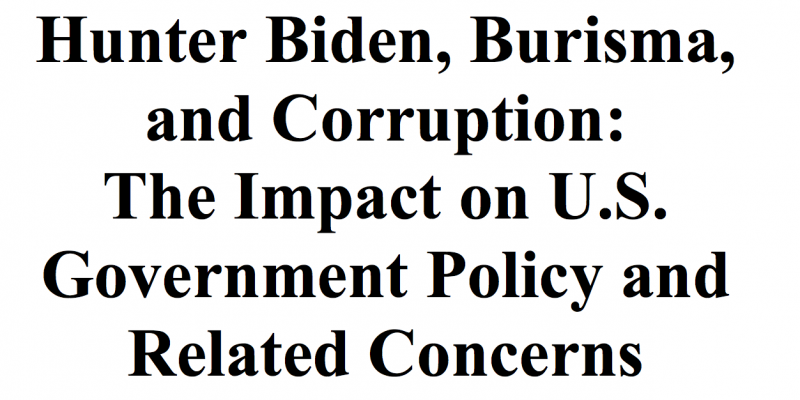 Senate investigation: Hunter Biden received millions from Moscow oligarch, implicated in alleged criminal activity including sex trafficking