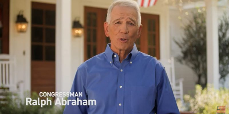 VIDEO: Letlow's New Ad Is Touting Doc Abraham's Endorsement