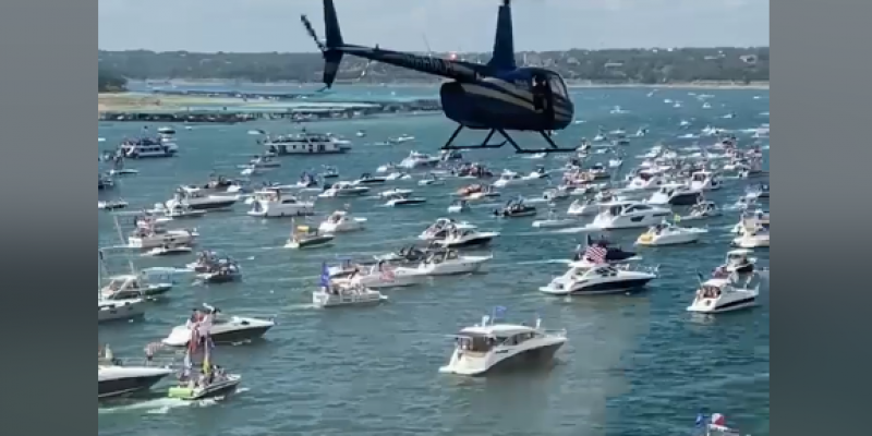 ANALYSIS: Austin Trump Boat Parade Attracts 1,300+ Boats; Media Freaks Out