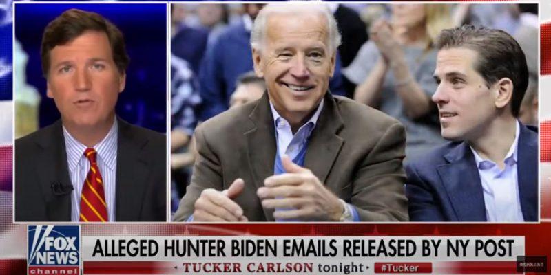 VIDEO: Tucker Carlson Joins The Fray On Hunter Biden's Corruption