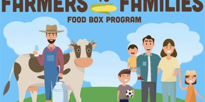 Farmers to families $4 billion food program delivers more than 100 million food boxes nationwide