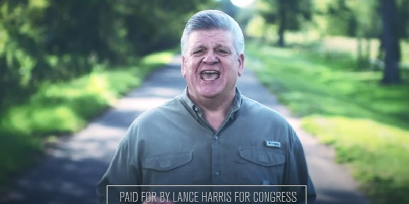 Meet The New Lance Harris Ad, Same As The Old Ralph Abraham Ad