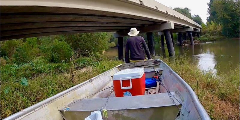 MARSH MAN MASSON: We Put In Next To A Bridge, And WHACKED The Fish