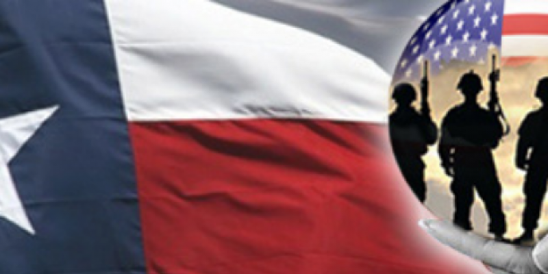 Texas veterans make up 6.8 percent of state's population, among them, 6.5 percent live in poverty