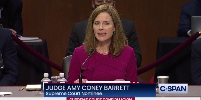 VIDEO: Amy Barrett's Opening Statement Yesterday