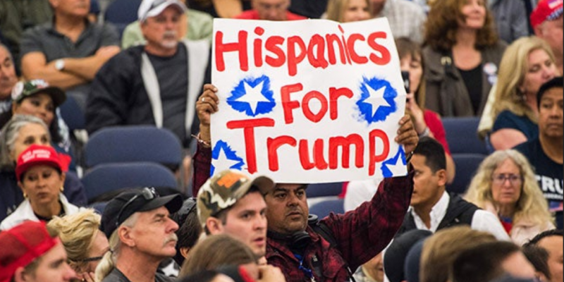 Hispanics helped Trump win in Florida, Texas, analysis of election data shows