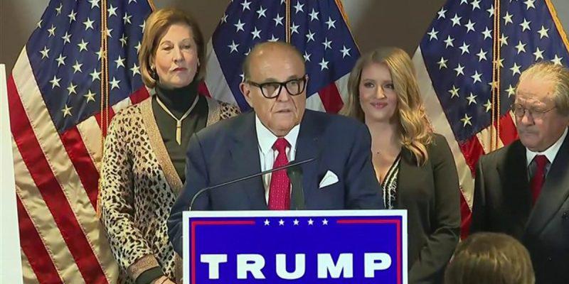 APPEL: The Giuliani Press Extravaganza, And Trump's Future