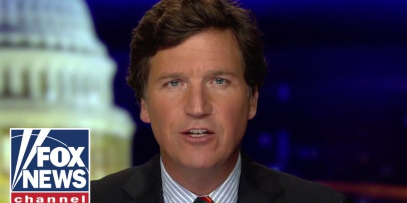 VIDEO: Boy, Tucker Carlson Sure Tore Up The COVID Bailout, Didn't He?