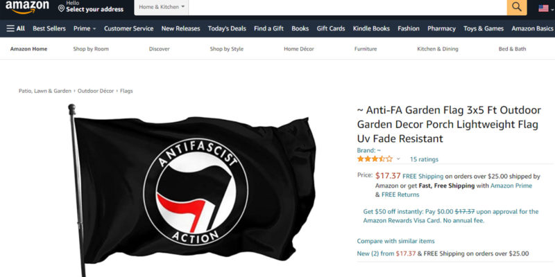 HOLTON: One Step Forward, Two Steps Back For Big Tech On Antifa Violence