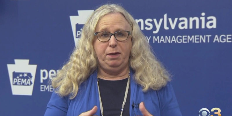 Remember Rachel Levine In Pennsylvania? He's Moving To HHS Now