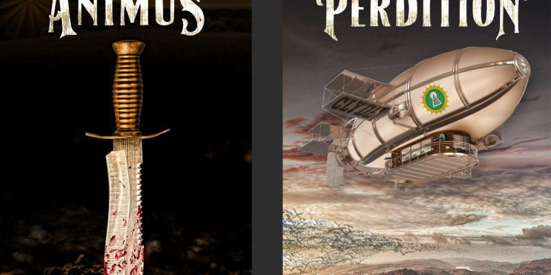 (Shameless Plug) Animus And Perdition Are Award-Winning Books, You Know…