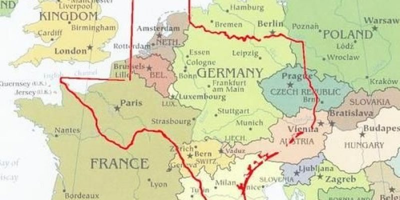 Texas 'Like A Whole Other Country' As European COVID Rates Skyrocket