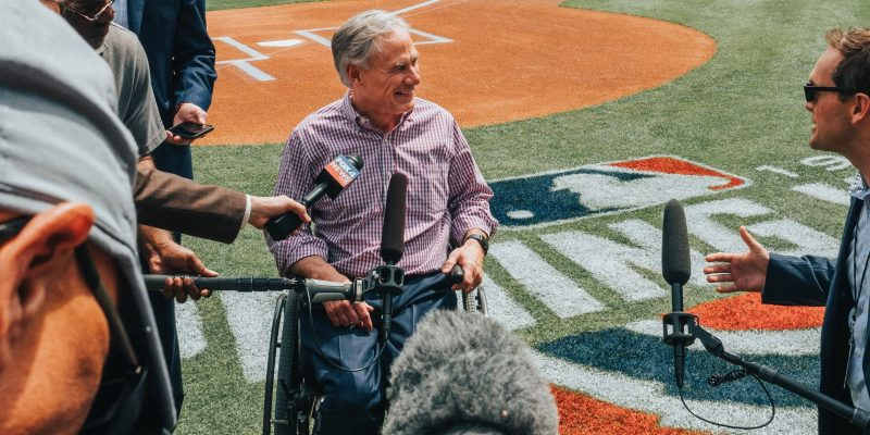 Abbott: Will Not Throw Rangers Opening Pitch, MLB Election Narrative 'Shameful'