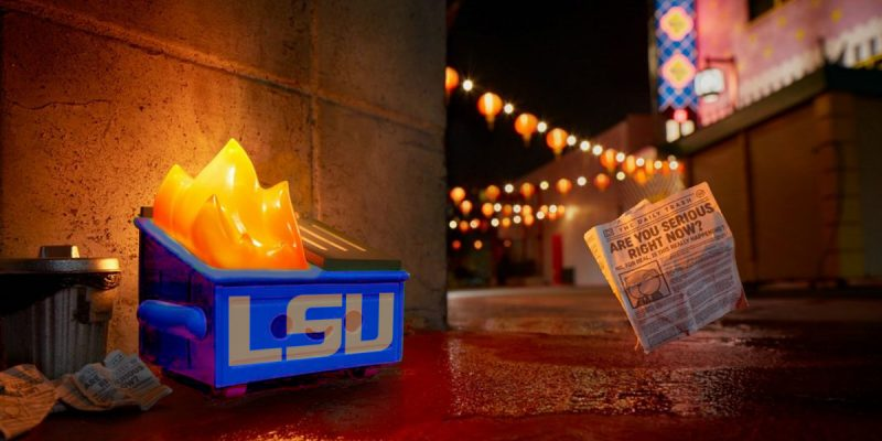 Anybody Want To Talk About What A Dumpster Fire LSU Is?