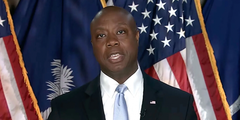 'America Is Not A Racist Country:' Tim Scott Delivers Stinging Rebuttal To Biden Admin