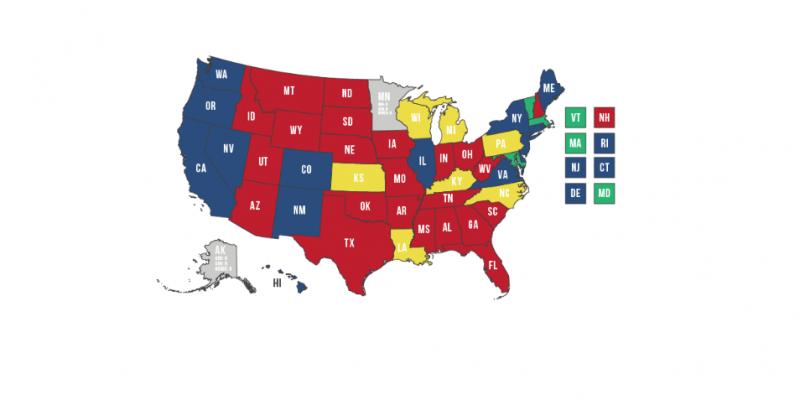 Census: Florida, Texas Gain Congressional Districts; California, Illinois, New York Lose Seats