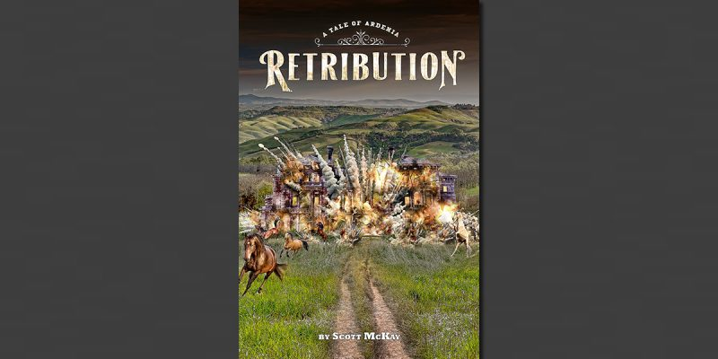 My New Novel Retribution Is Now Available In Both E-Book And Print Form!