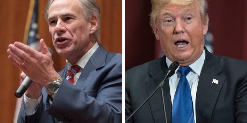 Trump's Endorsement Of Abbott Kicks Off Campaign 2022 In Texas