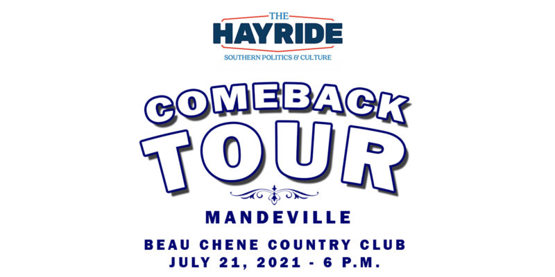 We're Only Five Days Away From The Hayride's Mandeville Tour Stop!