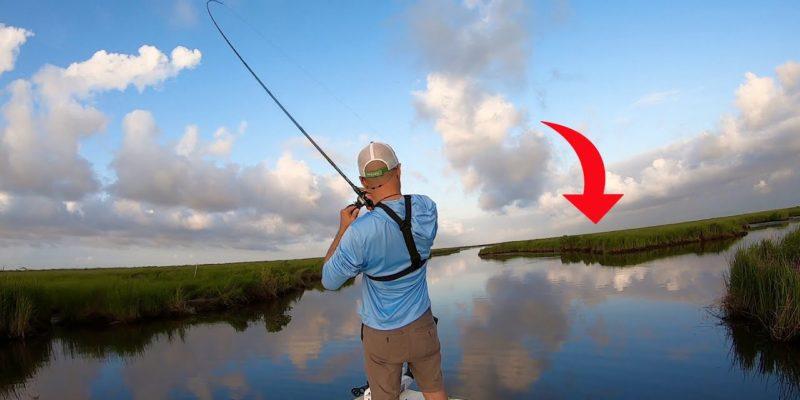 MARSH MAN MASSON: This Spot In The Marsh Held Fish!