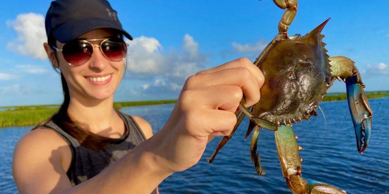 MARSH MAN MASSON: We Went On A Crab Hunt! SUCCESS!!
