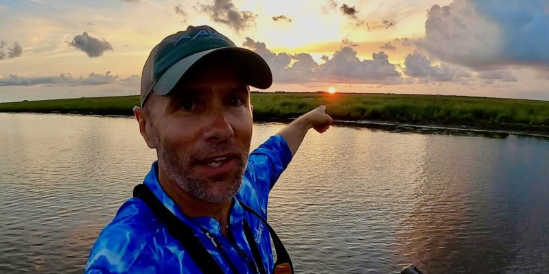 MARSH MAN MASSON: What Can We Catch Before The Sun Sets?!