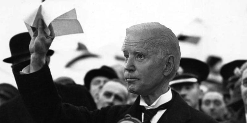BLANCO: Biden's Neville Chamberlain Moment