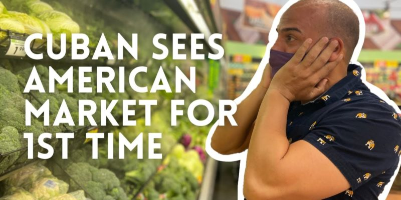 VIDEO: You Might Tear Up Watching A Cuban In An American Supermarket