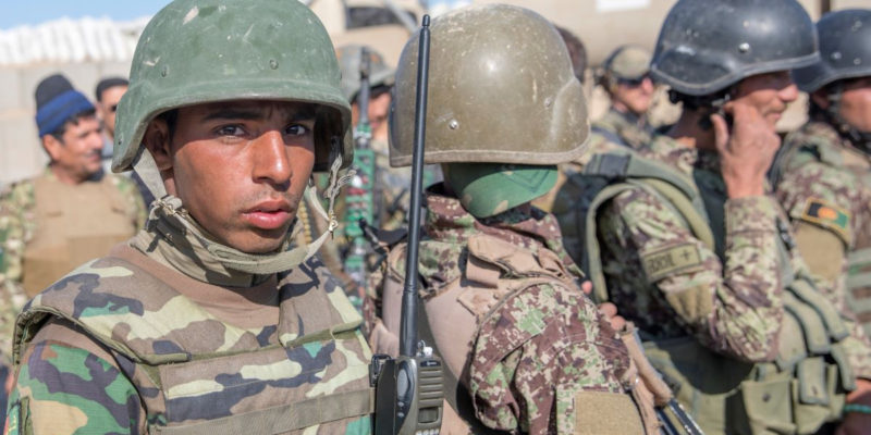 """WEINBERGER: Biden, Dems Can Learn Something From The Collapse of the Afghan """"Army"""""""