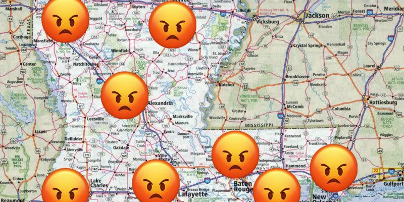 Hey, John Bel, Louisiana Ain't Happy